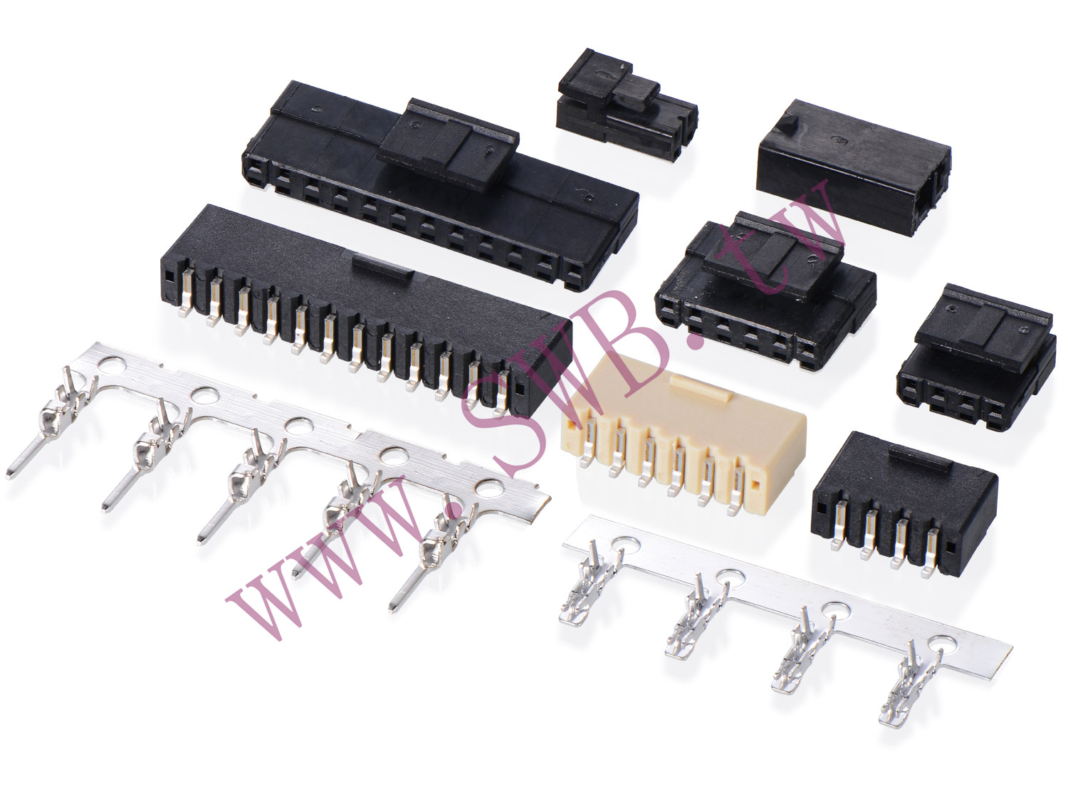"1804  Series 1.80mm Pitch (.071"") Wire to Wire Connectors"